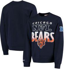 Chicago Bears Mitchell & Ness Toss Up Sweatshirt - Navy - $44.99
