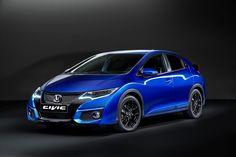 Honda Civic in Brilliant Sporty Blue