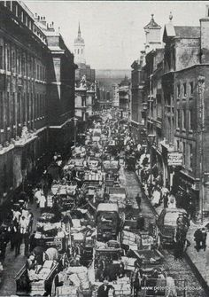 Billingsgate fish market 1890's London