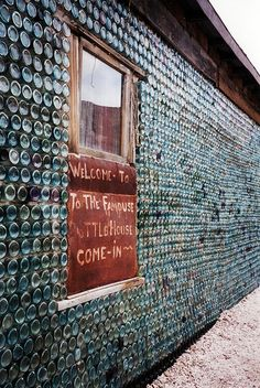 Bottle House; Rhyolite, NV