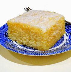 One Perfect Bite: An Easy Lemon Buttermilk Sheet Cake