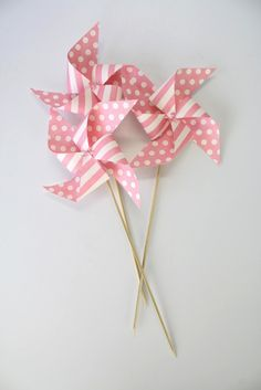 $11.50 Paper Windmill decorations - The Good Room Store