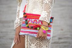 Flora Clutch  #tribalbags #clutches #hmongbags #hmong