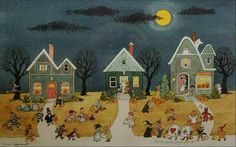 Image result for charles wysocki halloween