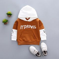 Toddler Outfits, Kids Outfits, Hooded Sweatshirts, Hoodies, Baby Kids, Baby Boy, Boy Or Girl, Boys And Girls Clothes, Kids Wear