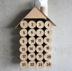Crafts To Make With Toilet Paper Rolls Crafts . Crafts To Make With Toilet Paper Rolls Crafts To Make With Toilet Paper Rolls 12 Best Toilet Paper Roll Crafts For Adults And Kids Diy Ideas Cool Advent Calendars, Homemade Advent Calendars, Diy Advent Calendar, Calendar Ideas, Advent Calander, Alternative Advent Calendar, Paper Towel Crafts, Paper Towel Rolls, Toilet Paper Roll Crafts