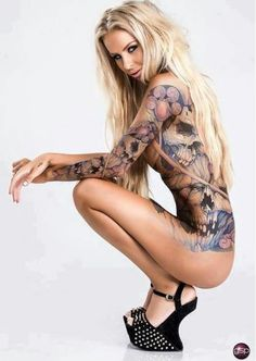 73 Best Almost naked tattoo women images in 2019 | Girl tattoos ...