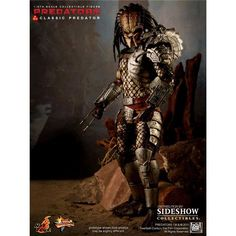 Movie Masterpiece - Classic Predator deluxe figur