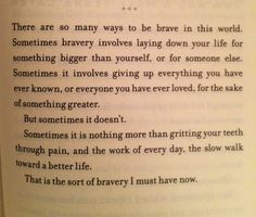 Allegiant... this will forever be my favourite quote from this book!