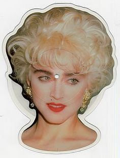 Madonna, Interview - head shape, UK, Deleted, shaped picture disc (picture disc vinyl record), , MADONNA7S, 42512