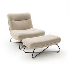 Voetensteun in linnen, helma Am. Find Furniture, Modern Furniture, Furniture Design, Japanese Furniture, Lounge Sofa, Modern Chairs, Modern Bedroom, Floor Chair, Living Room Designs