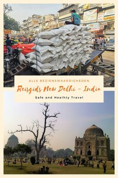 The start of your tour in India could just be Delhi! So grab this complete New Delhi Travel Guide to make your visit a success! New Delhi, Travel Guide, Travel Advise, Travel Plan, Old Fort, Travel Route, Visit India, India Tour, Travel