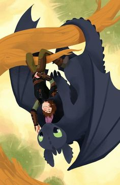 Hiccup and Toothless by Britney Liu Hiccup And Toothless, Hiccup And Astrid, Httyd Dragons, Dreamworks Dragons, Dragon Party, Dragon Rider, Film D'animation, Disney And More, How To Train Your Dragon