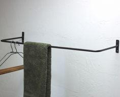 【あす楽】アイアンドレスバーハンガーLラスティック【HLS_DU】 Wall Lights, Towel, Lighting, Home Decor, Appliques, Room Decor, Home Interior Design, Towels, Lightning