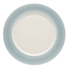 Lenox Tin Can Alley Seven Degree Accent Plate, Blue by Lenox. $10.99. Crafted of Lenox bone China. Microwave and dishwasher safe. Diameter measures 9-inch. A wash of blue provides a colorful accent on this white-bodied accent plate. Also available in khaki.. Save 56%!