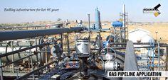 Gas Pipeline Application #gaspipeline #application #industrialsupplies