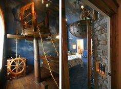 Dream little boys bedroom, Nautical/Undersea/Pirate themed