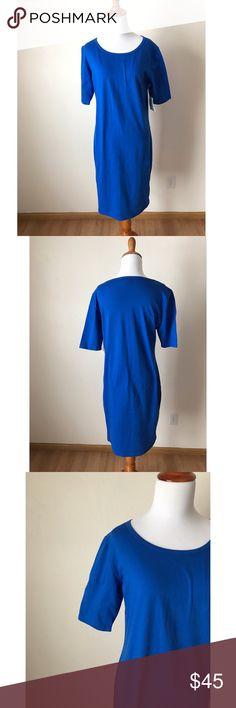 NWT Lularoe Julia Blue Dress New with tags LuLaRoe Dresses