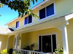 San Diego Yellow House Paint Exterior. Maverick Painting