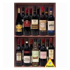 Piatnik Wine Bottles 1000-pc. Jigsaw Puzzle, Multicolor
