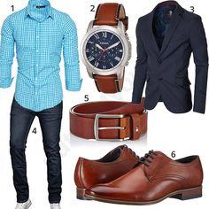 Elegant business outfit with light blue shirt Men's Business Outfits, Business Casual, Jeans Und Converse, Elegantes Business Outfit, Suit Fashion, Mens Fashion, Tommy Hilfiger Shirt, Estilo Hipster, Herren Style