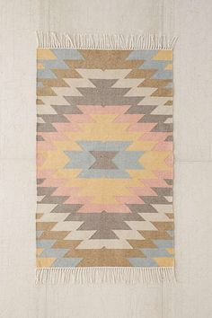 Urban Outfitters Faded Kilim Indoor/Outdoor Woven Rug