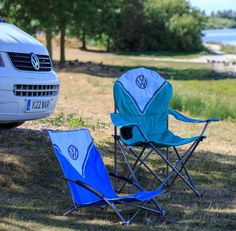 Funky Practical VW Licensed Camping Chairs Trail Outdoor Leisure  #vw #volkswagen #camping #chairs #trailoutdoorleisure