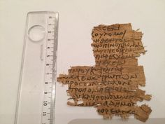 eBay item number:222124470910 Greek-Roman Or Coptic Rare Egyptian PAPYRUS TEXT FRAGMENTS Material:ancient papyrus text Provenance:FOR STUDY PURPOSE ebuyerrrr Starting bid $ 1,500 22/5/2016