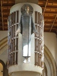 sir jacob epstein llandaff cathedral
