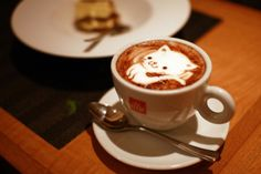 kitty cappuccino