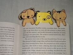 animal paper bookmarks · Recycled Crafts | CraftGossip.com