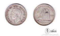 1952 #SILVER #CANADIAN #DIMES George VI - Dei Gratia Rex #Coins @Etsy http://etsy.me/17P8sd7