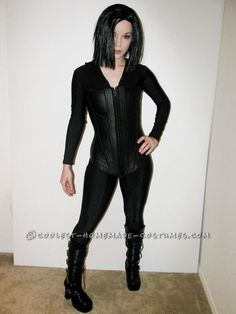 "Amazing Homemade Costume of Selene from Underworld... This site is the ""Pinterest"" of homemade Halloween costumes"