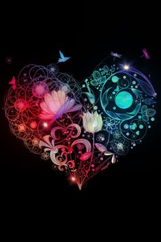 Color and Shapes in the Heart