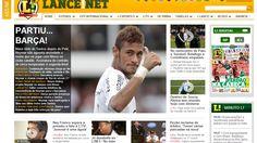 Neymar deal picked up by international press Neymar Jr, Messi, Neymar Barcelona, One Team, Pick Up, Football, Hs Sports, Hs Football, Soccer