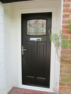 1000 images about front doors on pinterest black for 1950s front door styles