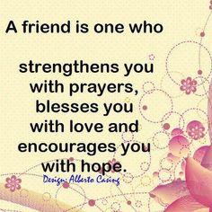 A true friend....