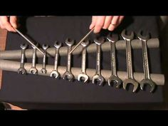 Metallophone à clés plates ( pentatonic wrench arrangement )