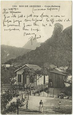 Visit Brazil, Ferrat, School Daze, Old Postcards, Historical Photos, Old Photos, South America, Paris Skyline, The Past