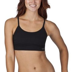 a5aca1f9794ce C9 by Champion® Womens Seamless Cami Bra - black Best Sports Bras