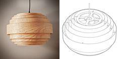 Lampe Ronde - atelier-d.ca