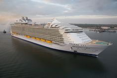 The world's largest cruise ship ready for your first journey 10