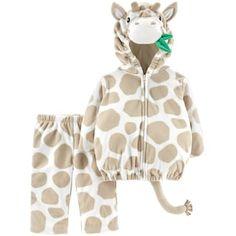 6-12 New InCharacter Cuddly Giraffe Halloween baby Costume Tan Camel small