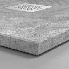 Cement, materiales humildes que ennoblecen el baño - Bosnor : Bosnor