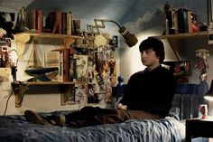 submarine movie unforgettable bedrooms from classic movies Movie Bedroom, Bedroom Scene, Bedroom Frames, Movie Rooms, Tv Rooms, Game Rooms, Playlists, Mirrors And Ghosts, Oliver Tate