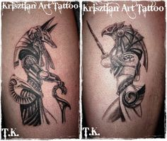 Krisztian Art Tattoo - Anubis and Horus