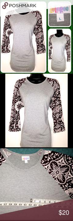 Clothing, Shoes & Accessories New Lularoe Randy Shirt L Volume Large Women's Clothing
