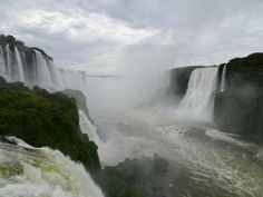 Devil's Throat from below, Iguazu Falls Iguazu Falls, Niagara Falls, South America, Waterfall, Nature, Travel, Outdoor, Outdoors, Naturaleza