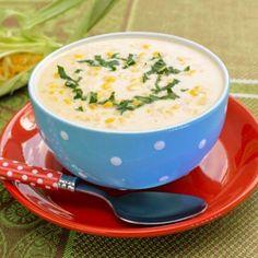 Supa crema de porumb cu smantana