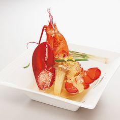 日本料理研究会レシピる! » 活オマール海老の雲丹ソース